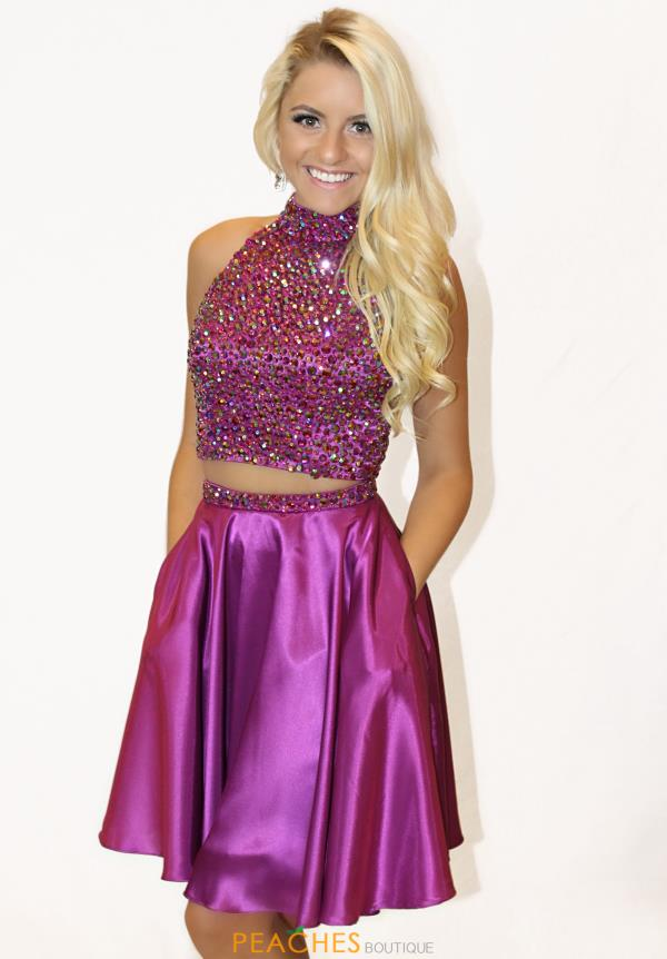 Sherri Hill Short Two Piece Dress 51540