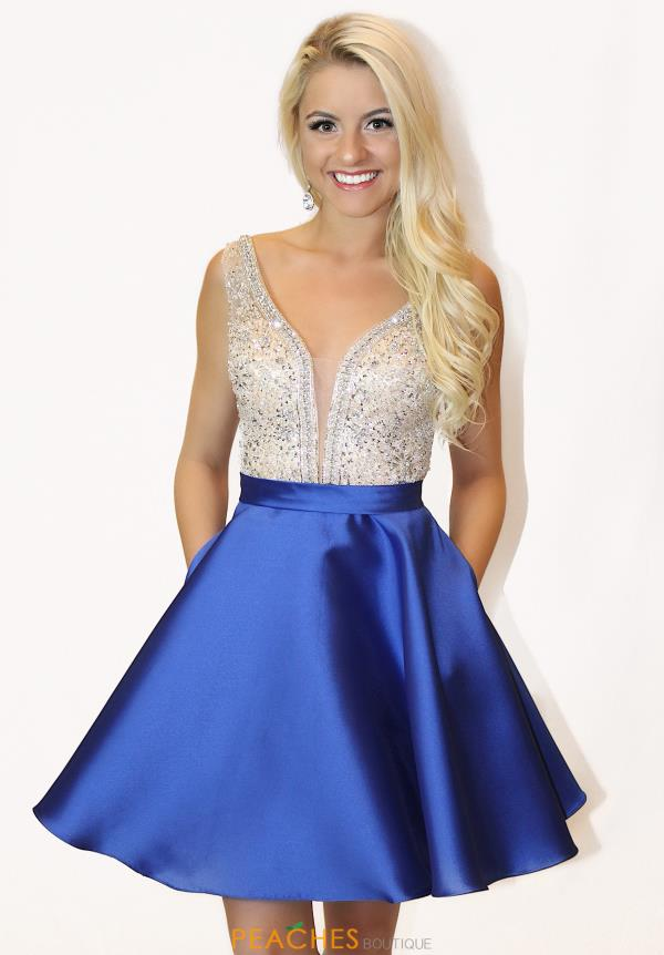 JVN by Jovani Beaded Satin Dress JVN63850