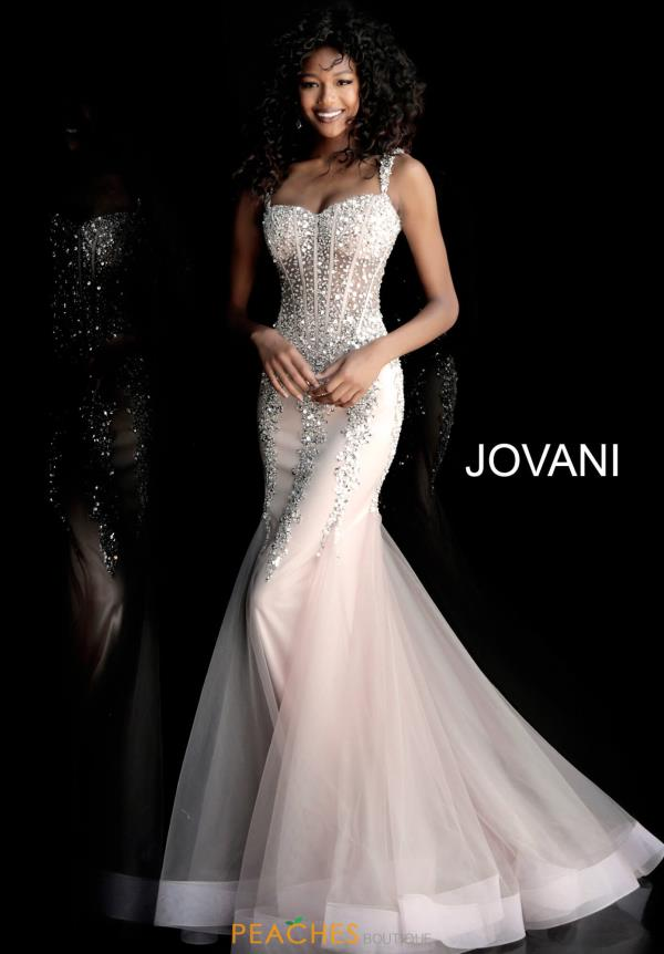 Jovani Sweetheart Beaded Dress 62523