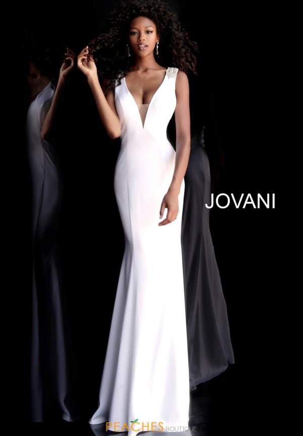 jovani white dresses