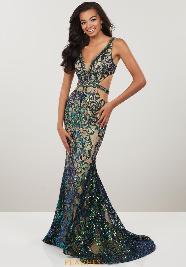 Panoply Long Beaded Dress 14939