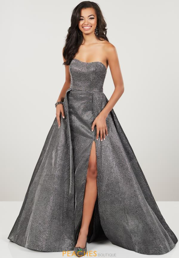Panoply Strapless A Line Dress 14943