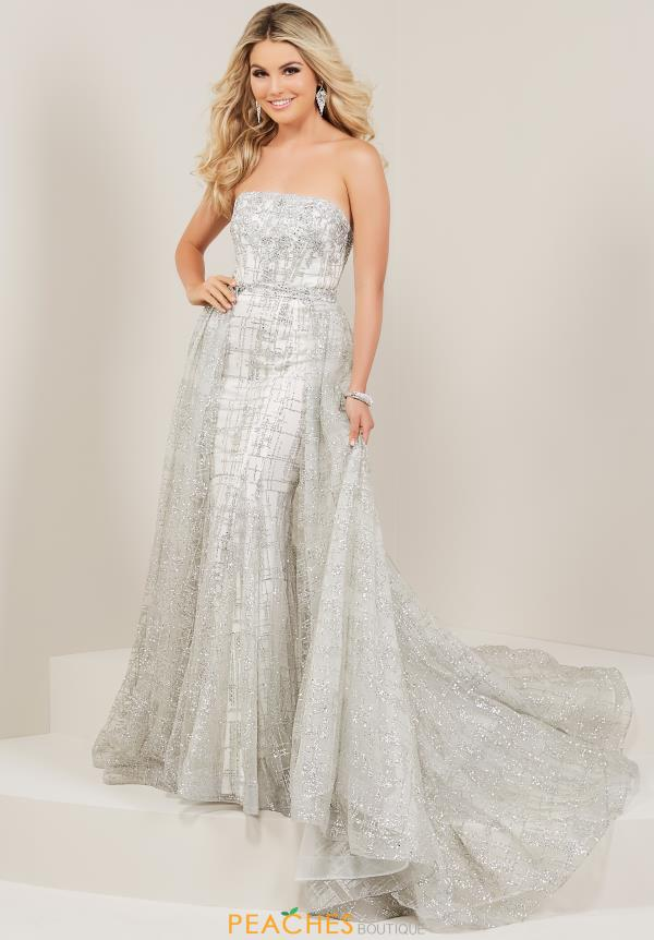 Tiffany Strapless Beaded Dress 16339