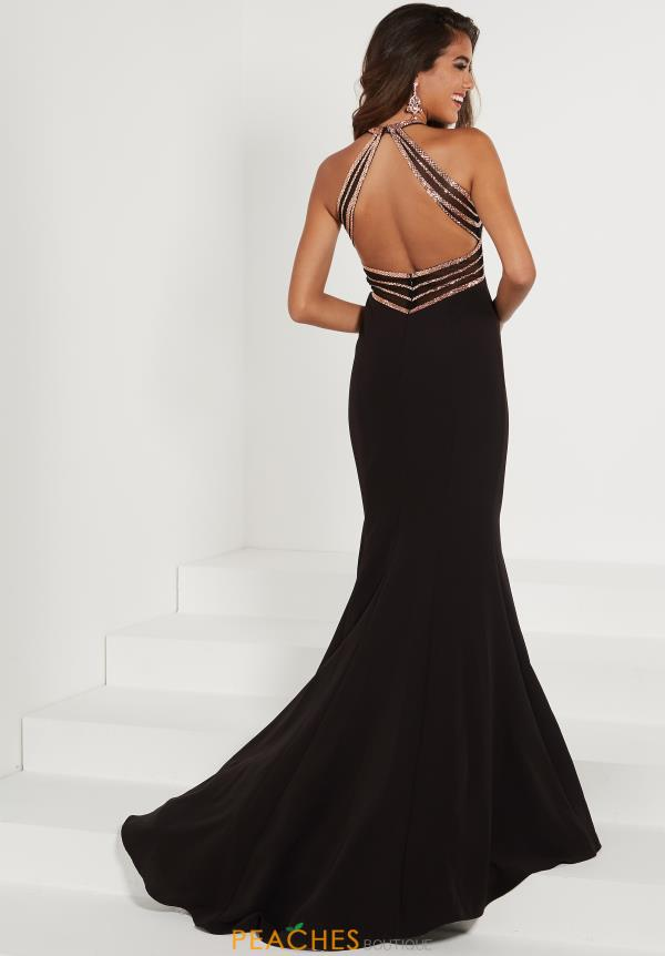 Tiffany Open Back Long Dress 46178