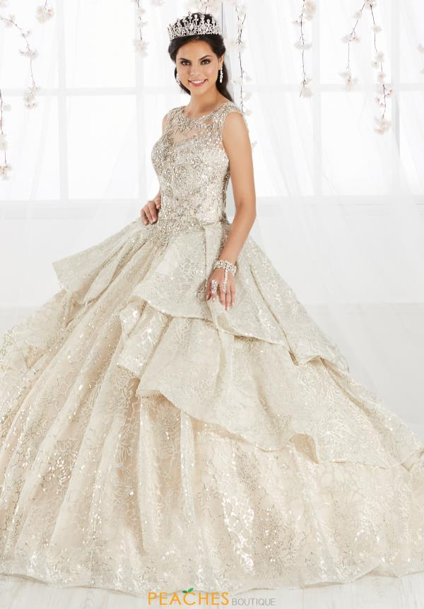 Tiffany Quinceanera Beade Ball Gown 26910