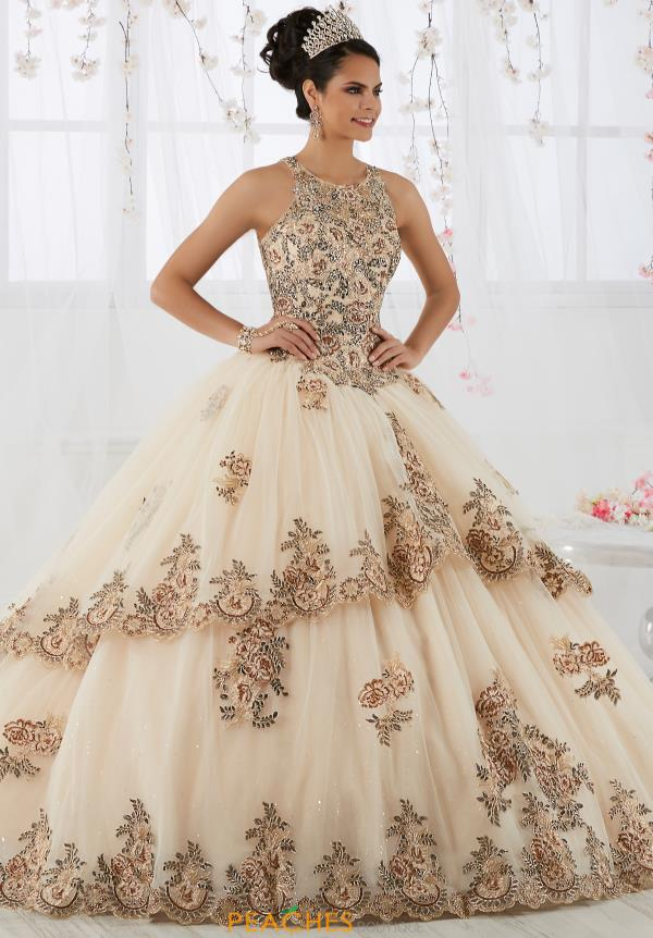 Tiffany Quinceanera Lace Ball Gown 26912