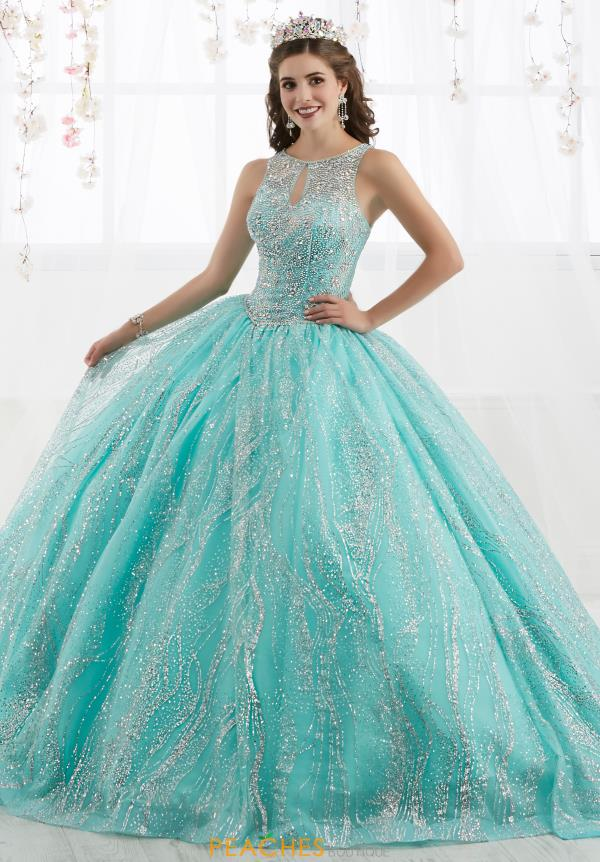 Tiffany Quinceanera Beaded Ball Gown 26915