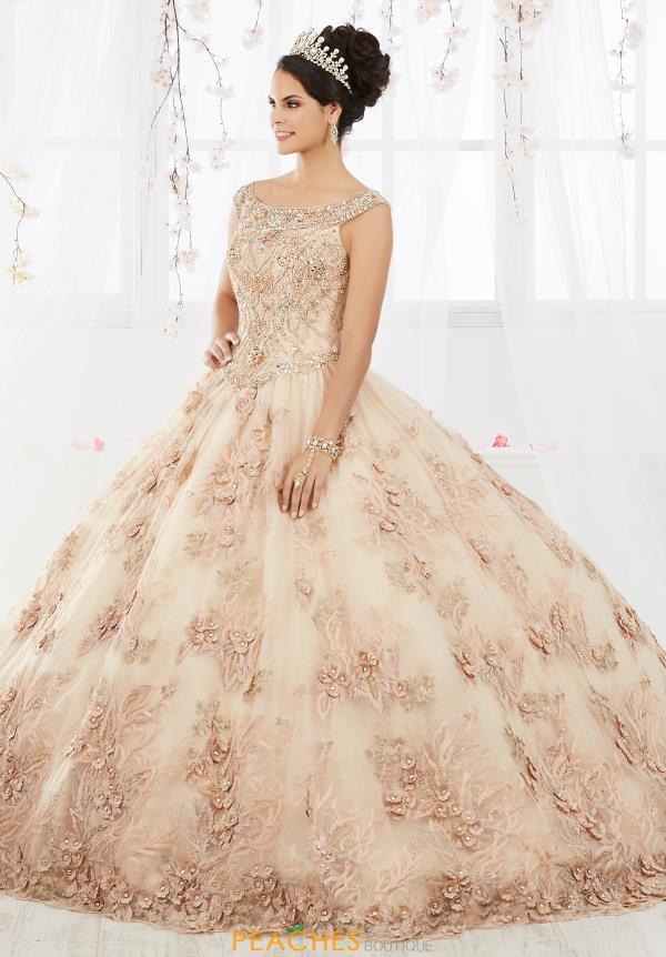 Tiffany Quinceanera Beaded Long Gown 26918