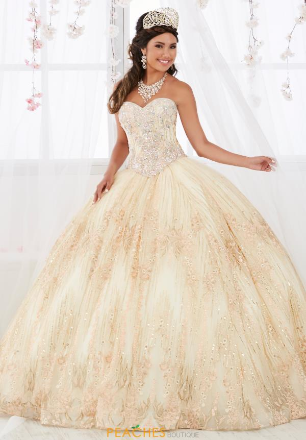 Tiffany Quinceanera Strapless Beaded Gown 26920