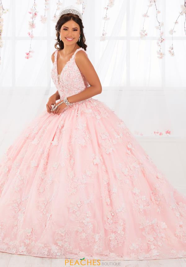 Tiffany Quinceanera V-Neck Gown 26922