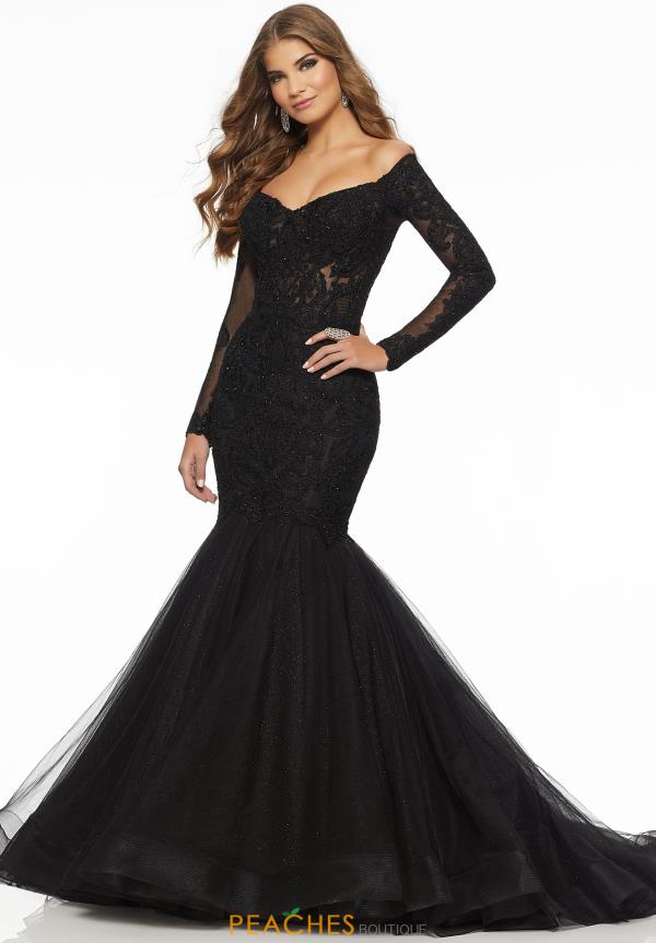 Mori Lee Off the Shoulder Mermaid Dress 43060