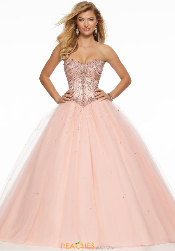 Morilee Full Figured Beaded Dress 43087