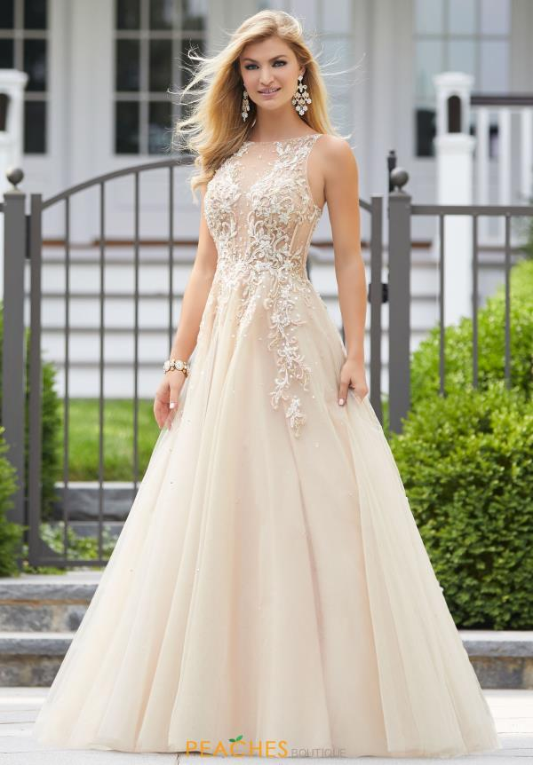 Morilee A Line Beaded Dress 43093