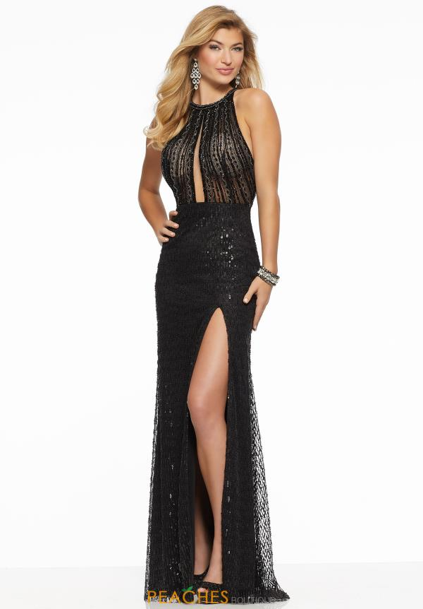 Morilee Sexy High Neckline Dress 43109