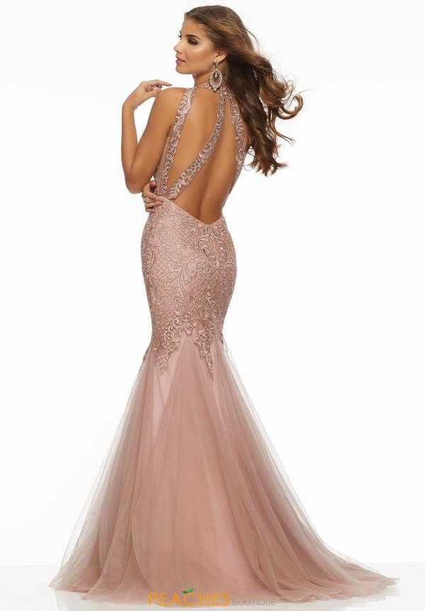 Morilee High Neckline Beaded Dress 43119