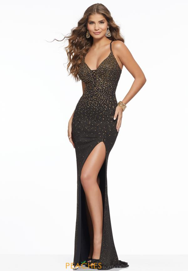 Morilee V-Neck Beaded Dress 43133