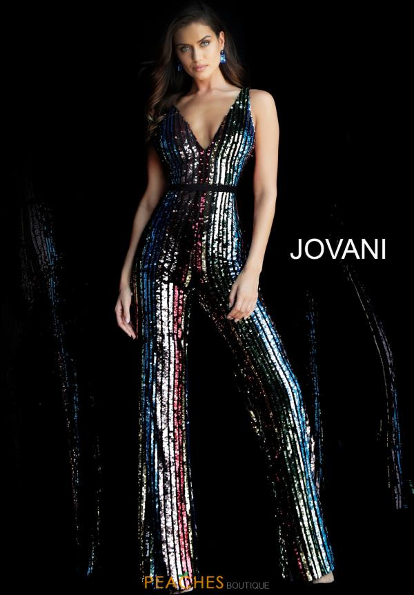 Jovani Sequins Jumpsuit 65396