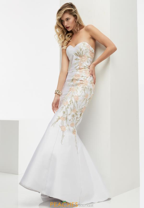 Strapless Fitted Jasz Couture Dress 5997