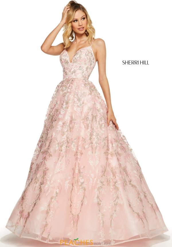 Sherri Hill Long A Line Dress 52759