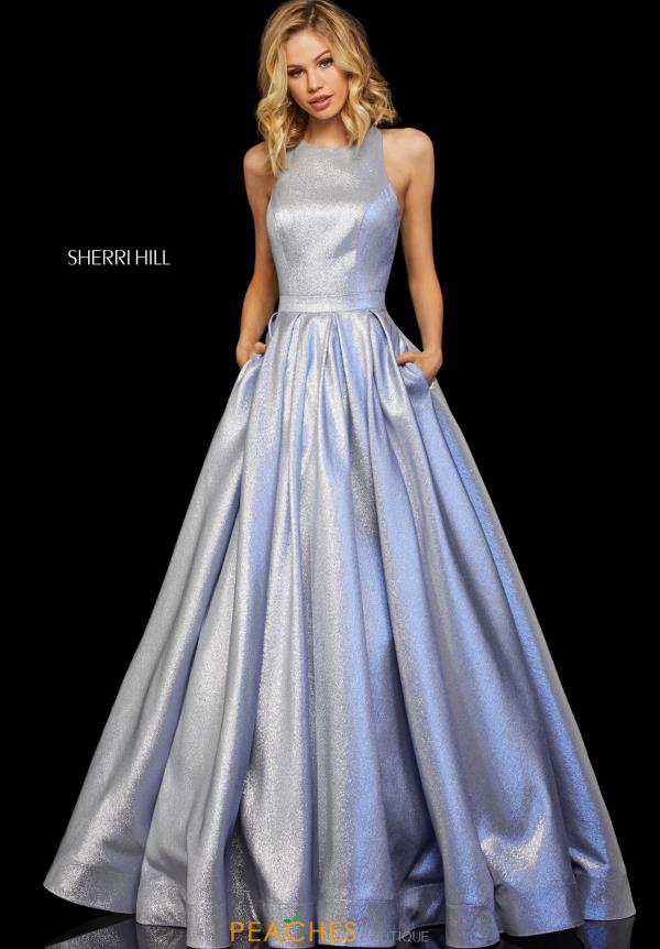 Sherri Hill Long A Line Dress 52957