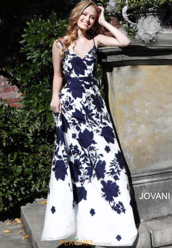 Jovani Long A Line Dress 57101