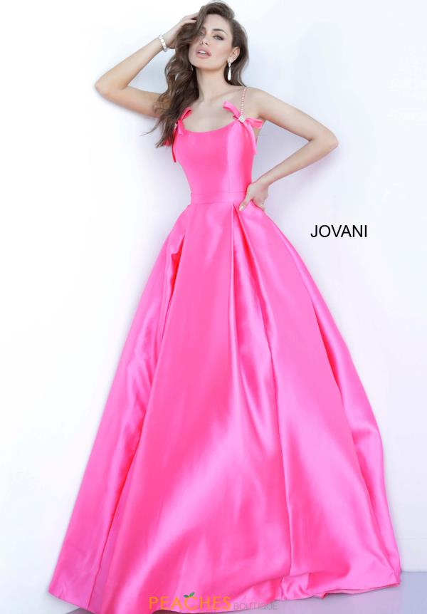 Jovani Bow Detailing Long Dress 00199