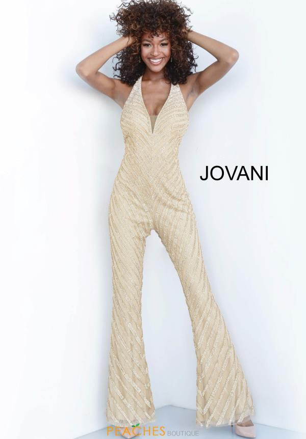 Jovani Flared Leg Jumpsuit Dress 00401
