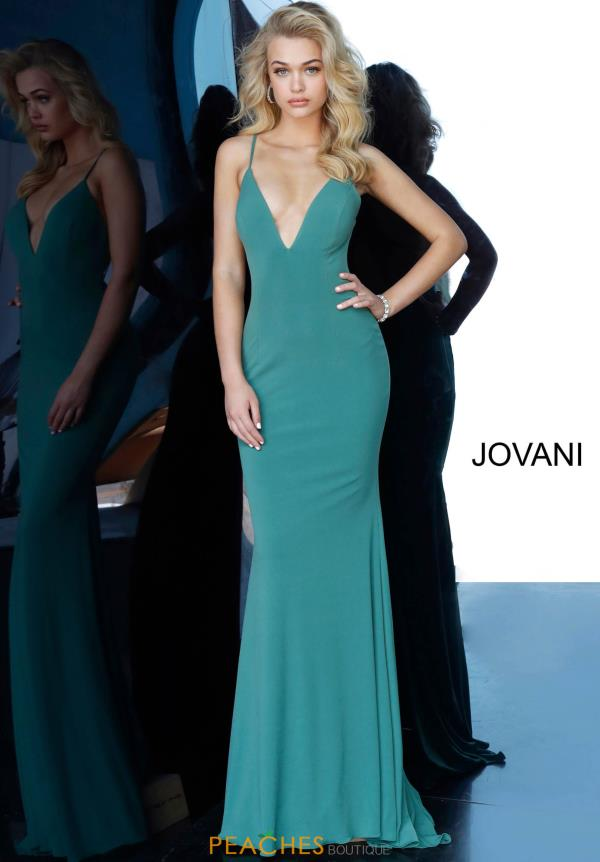 Jovani Fitted Spaghetti Strap Dress 00512