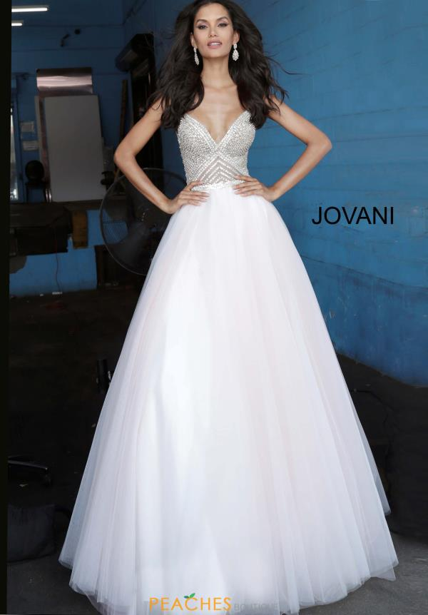Jovani Beaded Ball Gown Dress 00580