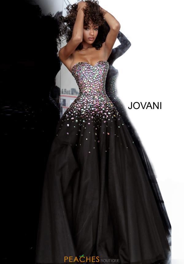 Jovani Beaded Ball Gown Dress 00630