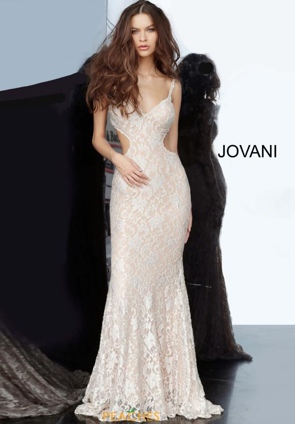Jovani FItted Lace Dress 00780