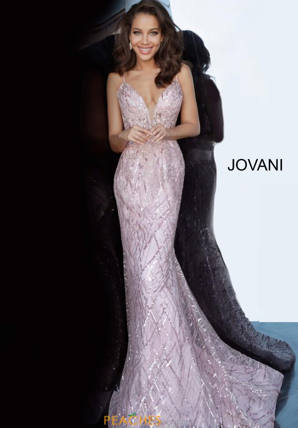Jovani Long Glitter Dress 02245