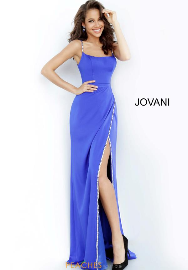 Jovani Long Slit Dress 02720