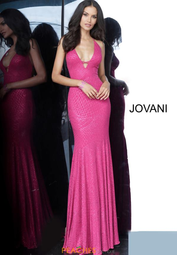 Jovani Long Fitted Dress 02781