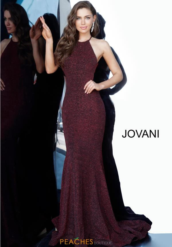 Jovani Long Halter Dress 03055
