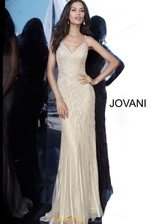 Jovani Long Glitter Dress 03095