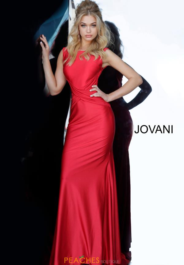 Jovani Jersey Fitted Dress 1016