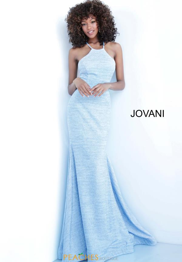 Jovani Long Halter Dress 1139