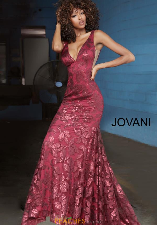 Jovani Glittery Long Dress 1237