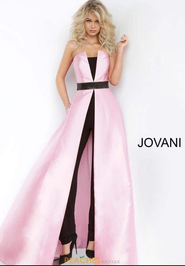 Jovani Black Jumpsuit Dress 1799