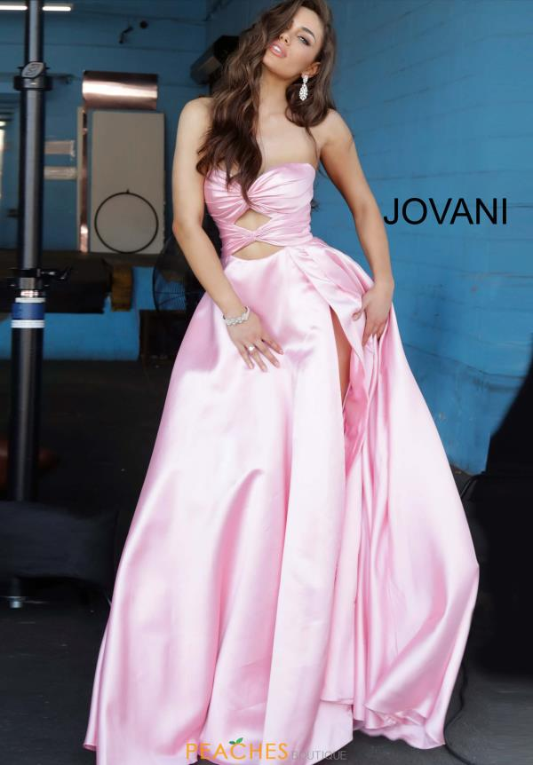 Jovani Sweetheart Strapless Dress 1815