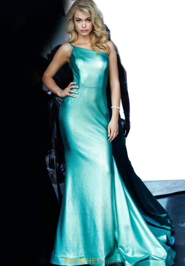 Jovani Long Single Shoulder Dress 02136