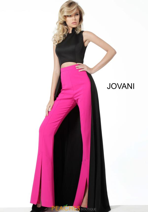 Jovani High Neckline Jumpsuit Dress 3377