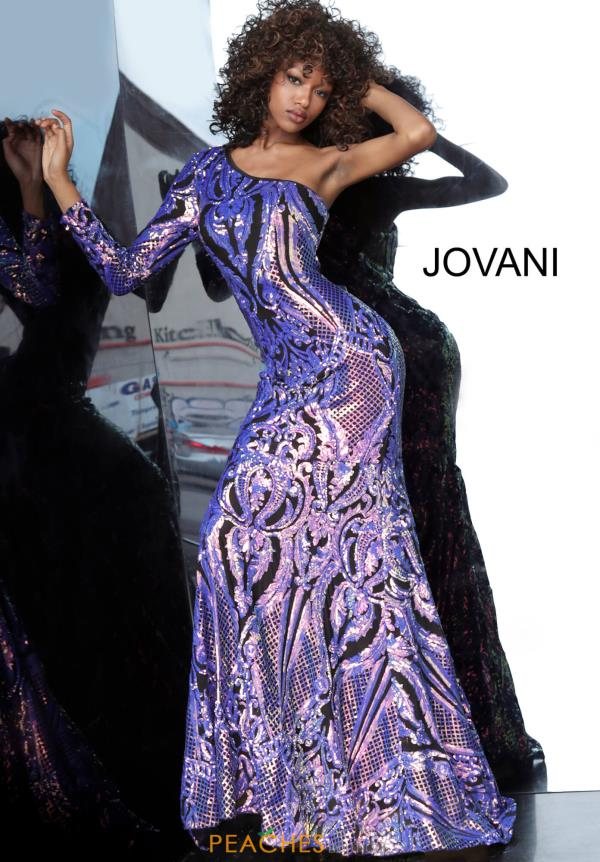 Jovani Single Shoulder Long Dress 3477