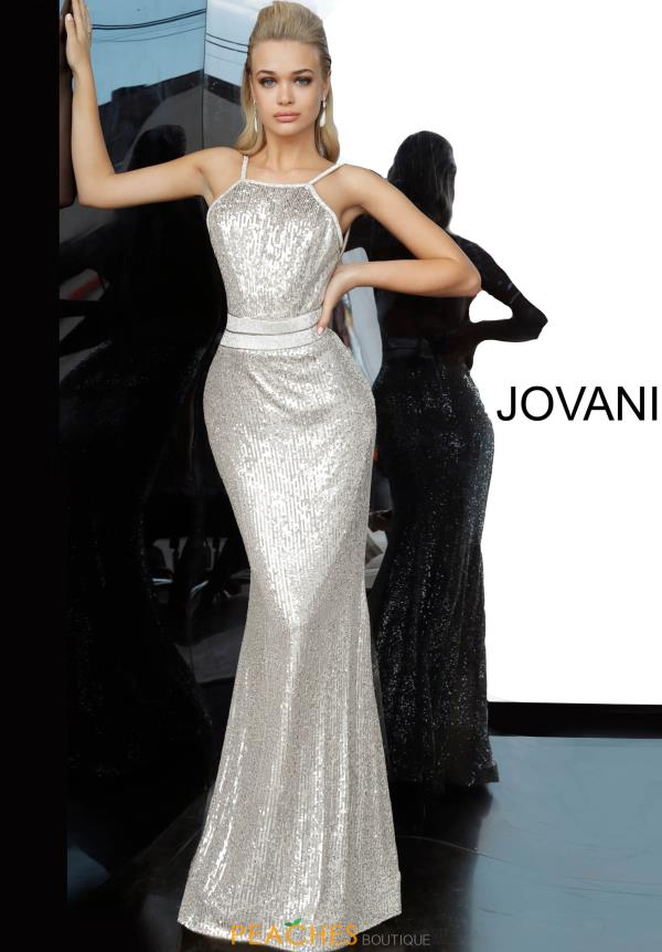 Jovani Fully Beaded Fitted Dress 4222