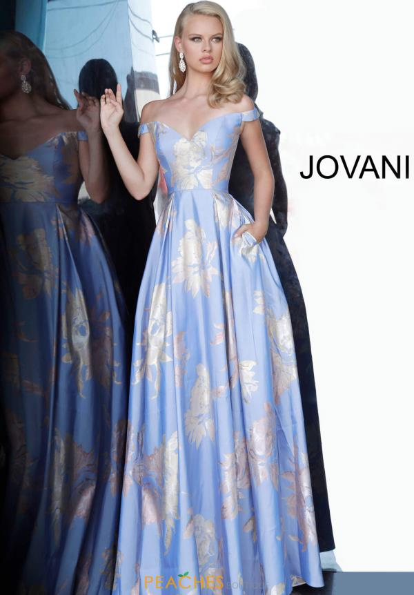 Jovani A Line Cap Sleeve Dress 48361