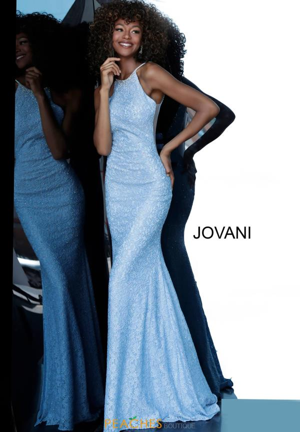 Jovani Lace Fitted Dress 64010