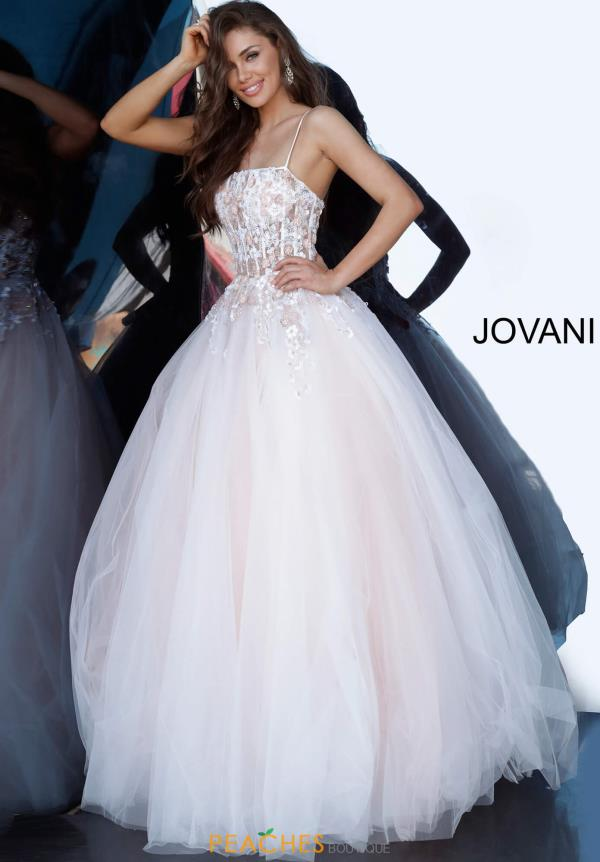 Jovani Corset Lace-Up Dress 66725