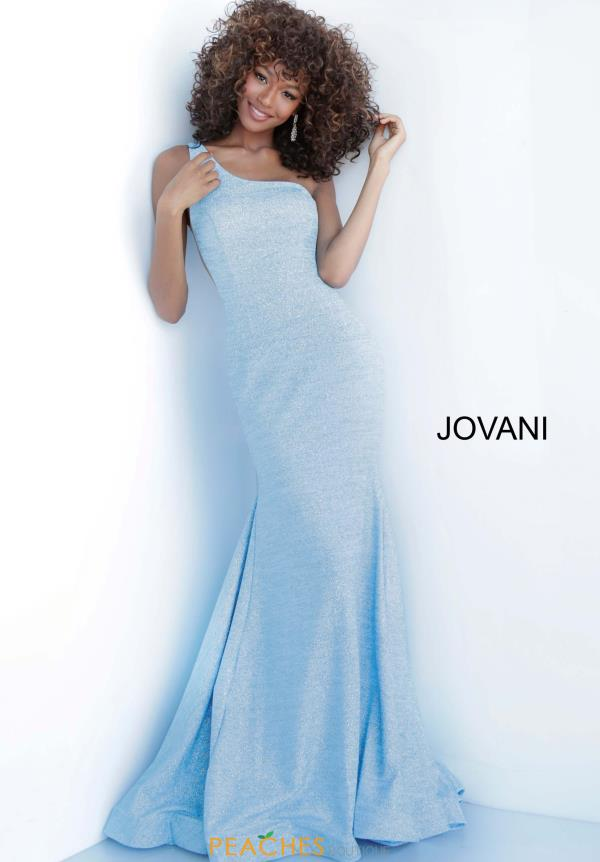 Jovani One Shoulder Dress 67650