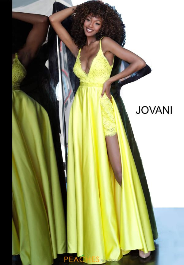 Jovani A Line Lace Dress 68426